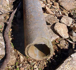 asbestos water pipes in texas town